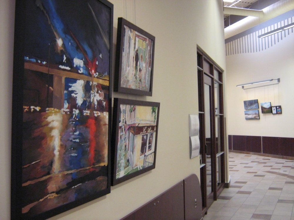 "Scott Nicholson Fine Arts Corporate Installation ""The Four Seasons"", Regina Centre Crossing, Regina, SK"