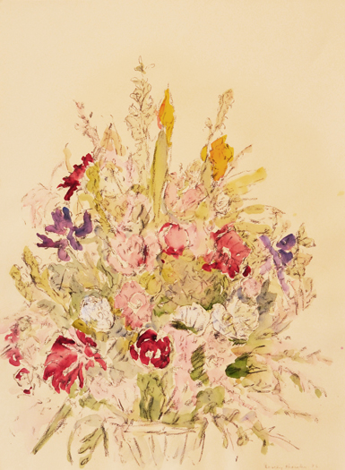 "Dorothy Knowles, ""Untitled"", 1996, Watercolour on paper, 30"" x 22"""