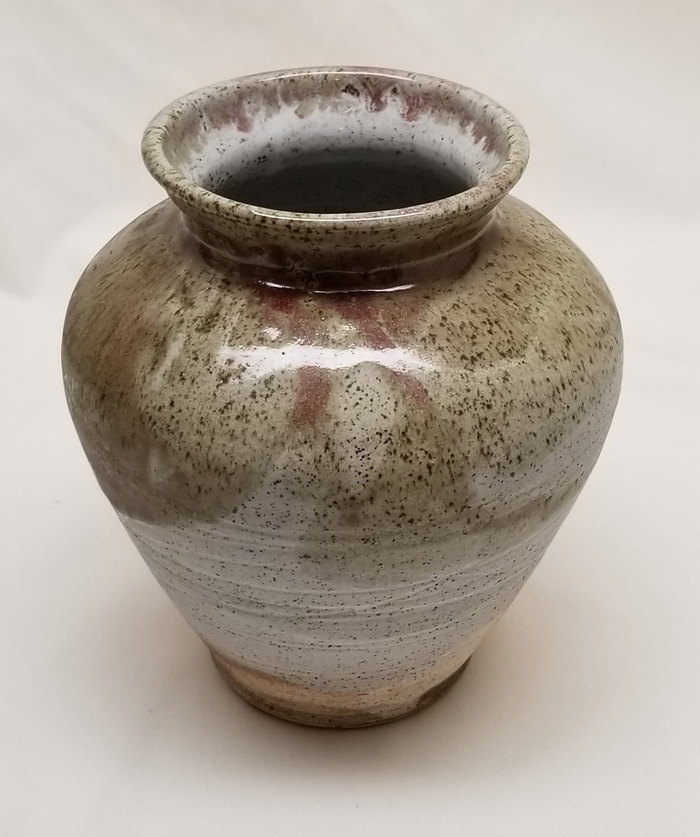Vase by Claude Morin, Fired Clay.jpg