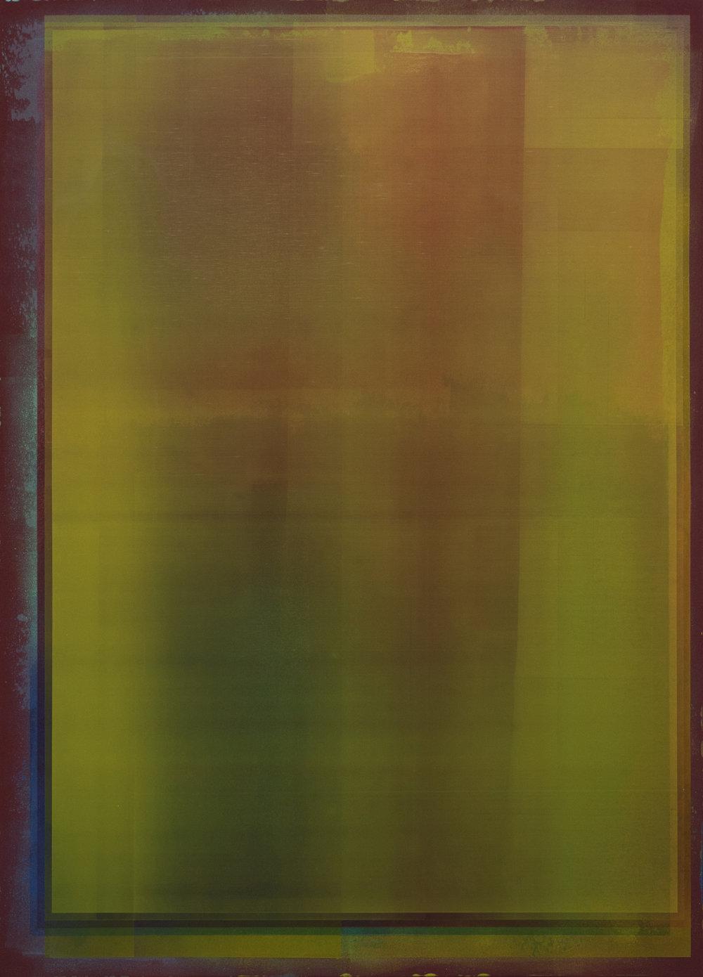 """Jonathan Forrest, """"Autumn Shade"""", 2018, Acrylic on canvas, 66"""" x 48"""""""