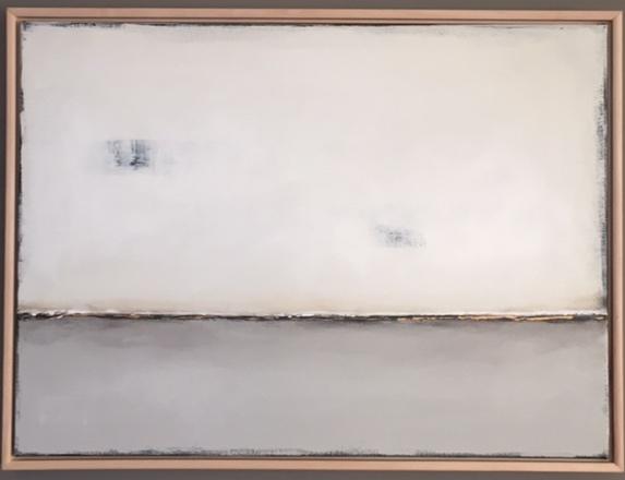 """Joleen Claypool, """"Winter Mist"""", 30""""x22"""", acrylic on canvas, $350."""