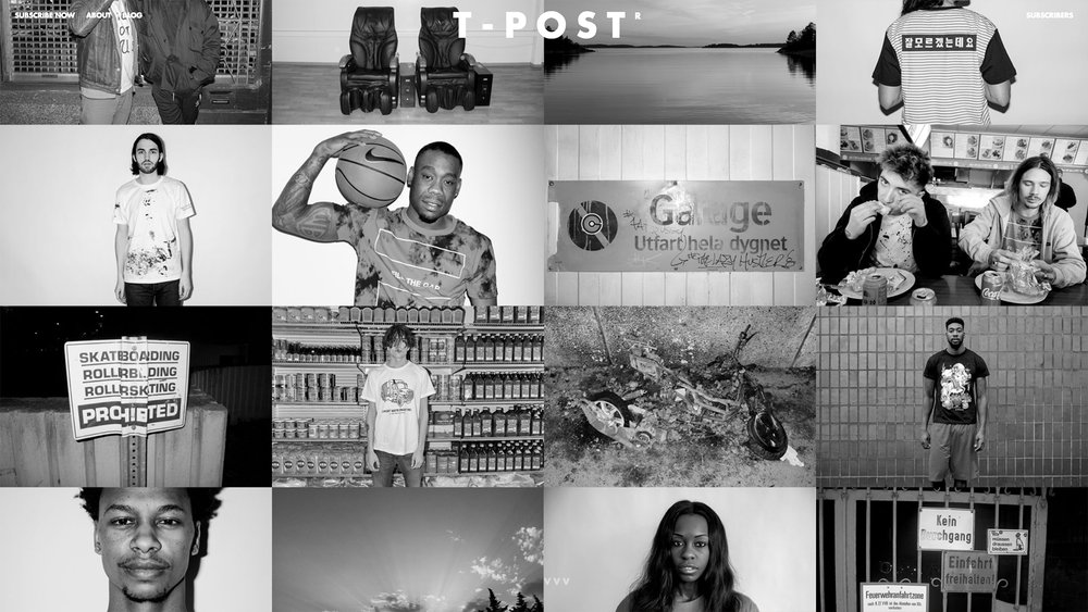 T-Post is the world's first wearable magazine. News + graphic tee = all around conversation piece. As Chief Yank, I found the news, wrote the commentary, discovered and managed the visual artists to interpret the stories, and worked with the company founder on marketing and business development.