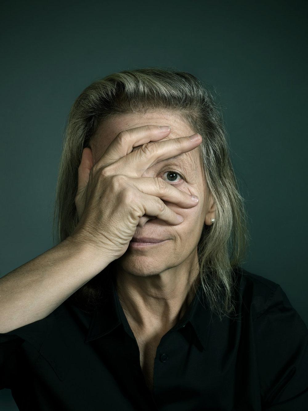 Annie Leibovitz portrait by John Keatley