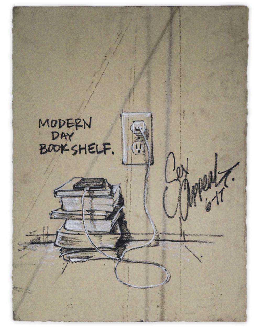 'Modern Day Bookshelf'