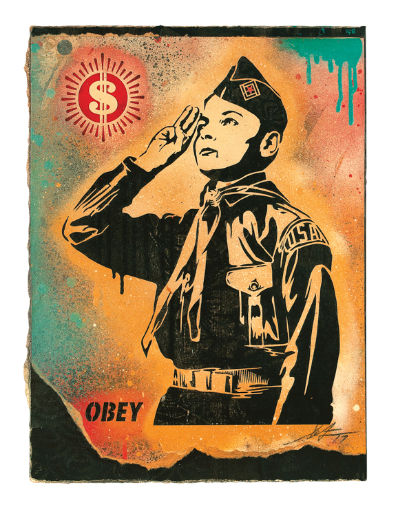 Copy of Learn to OBEY, 2017