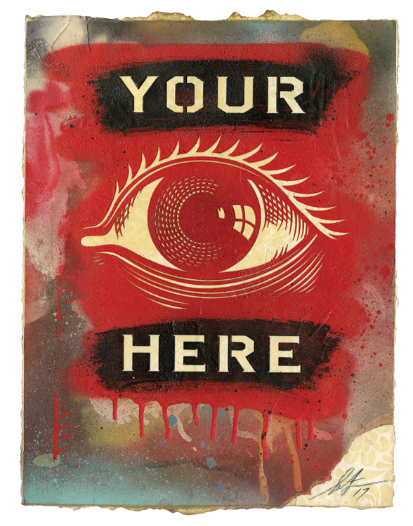 Copy of Your Eye Here, 2017
