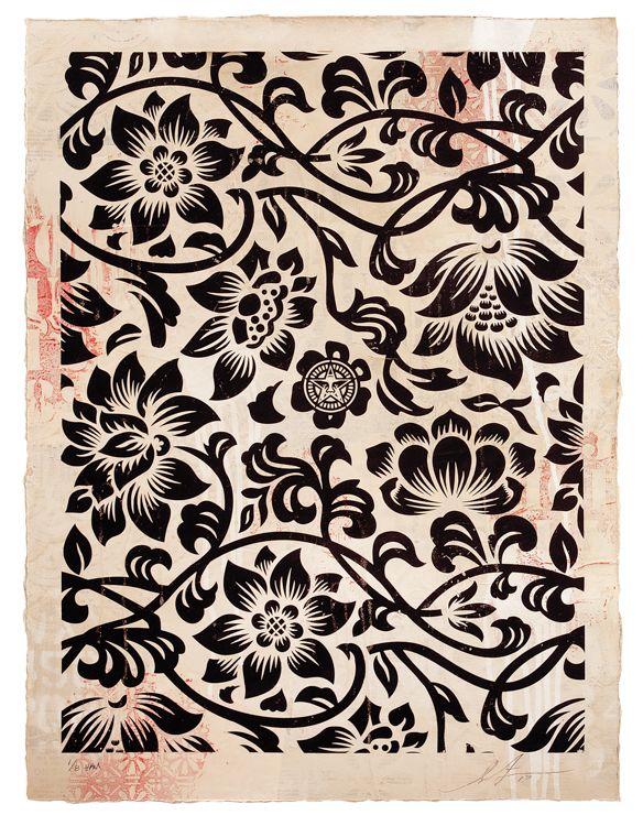 Copy of Floral Takeover (Black/Cream), 2017