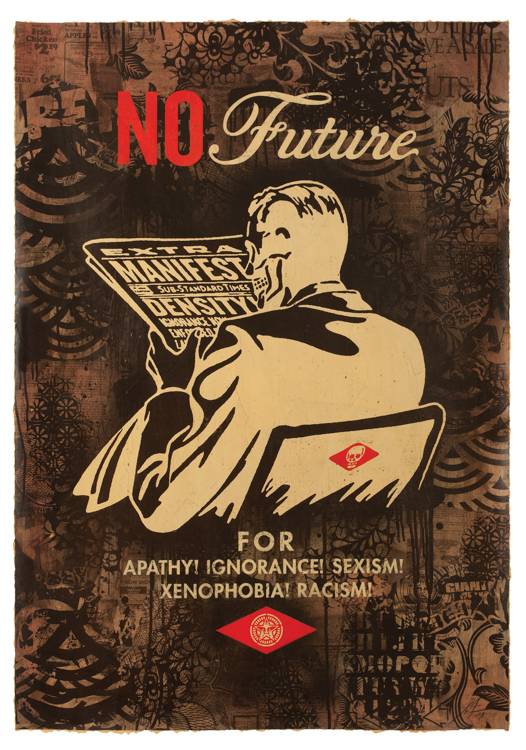 No Future (Black) , 2017