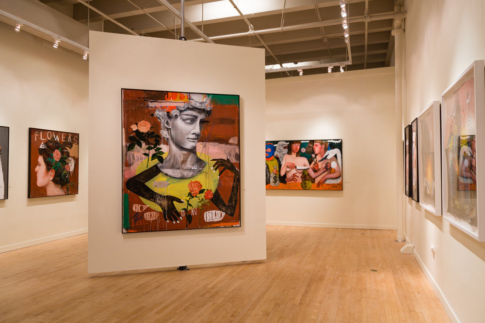 Treason Gallery presents it's January solo exhibition, John Sarkis: DISORDERLY NOTIONS