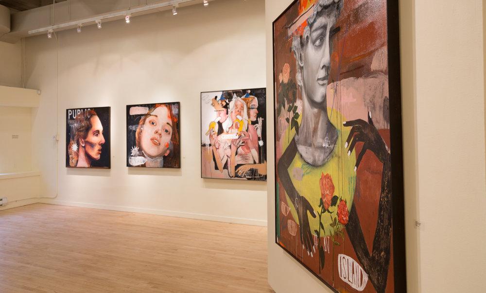Treason Gallery presents it's January solo exhibition, John Sarkis: DISORDERLY NOTIONS