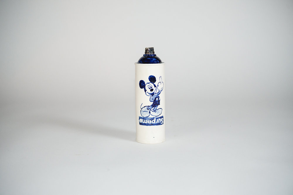 Copy of Jesse Edwards - Untitled Spray Can V (2018)