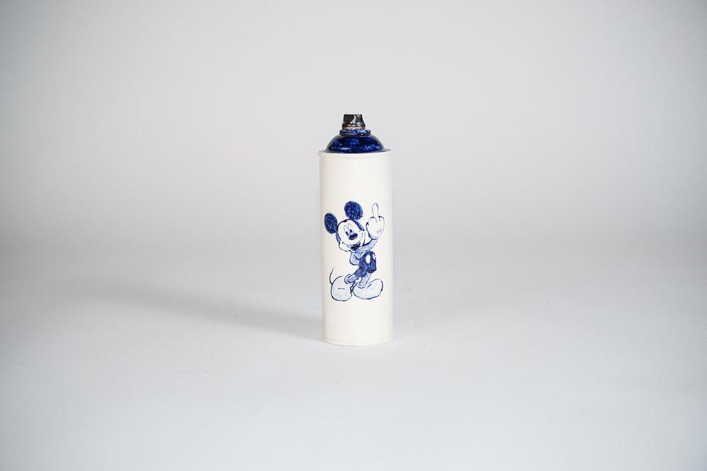 Jesse Edwards - Untitled Spray Can VIII (2018)