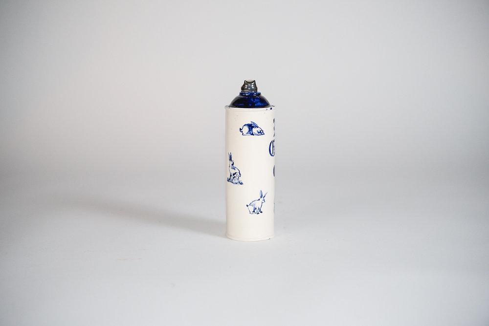 Jesse Edwards - Untitled Spray Can I (2018)