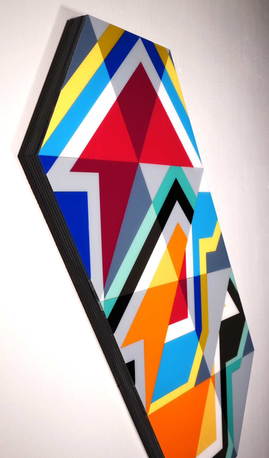 Tavar Zawacki - DOUBLE TAKE (POLYGON), 2018
