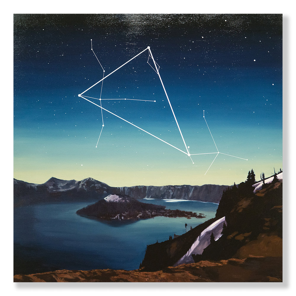 Mary Iverson - Summer Triangle, Crater Lake National Park (2017)