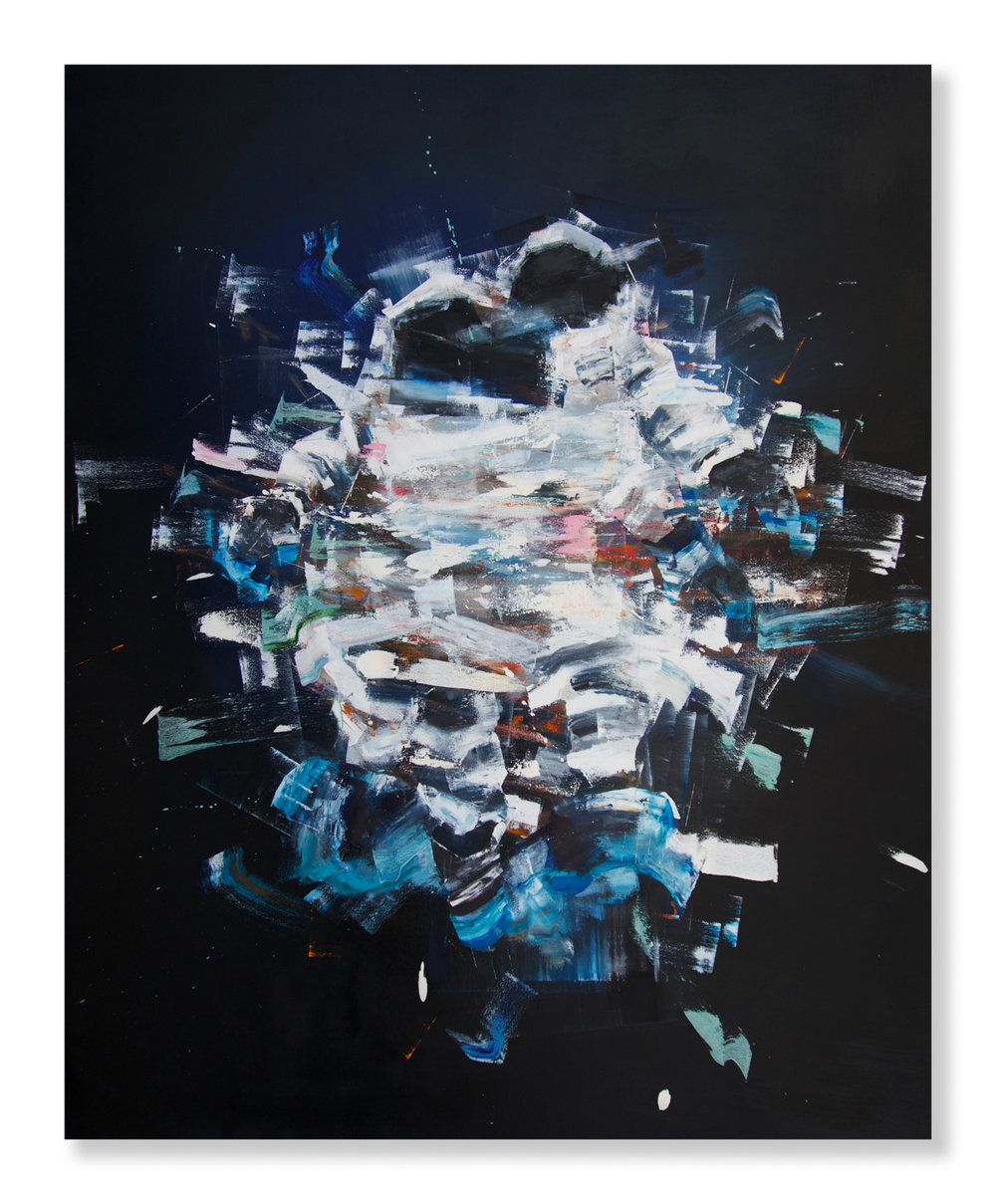 "Matthew Ryan Herget  Float Tank  (2018) Oil on canvas 48"" x 60""  INQUIRE"