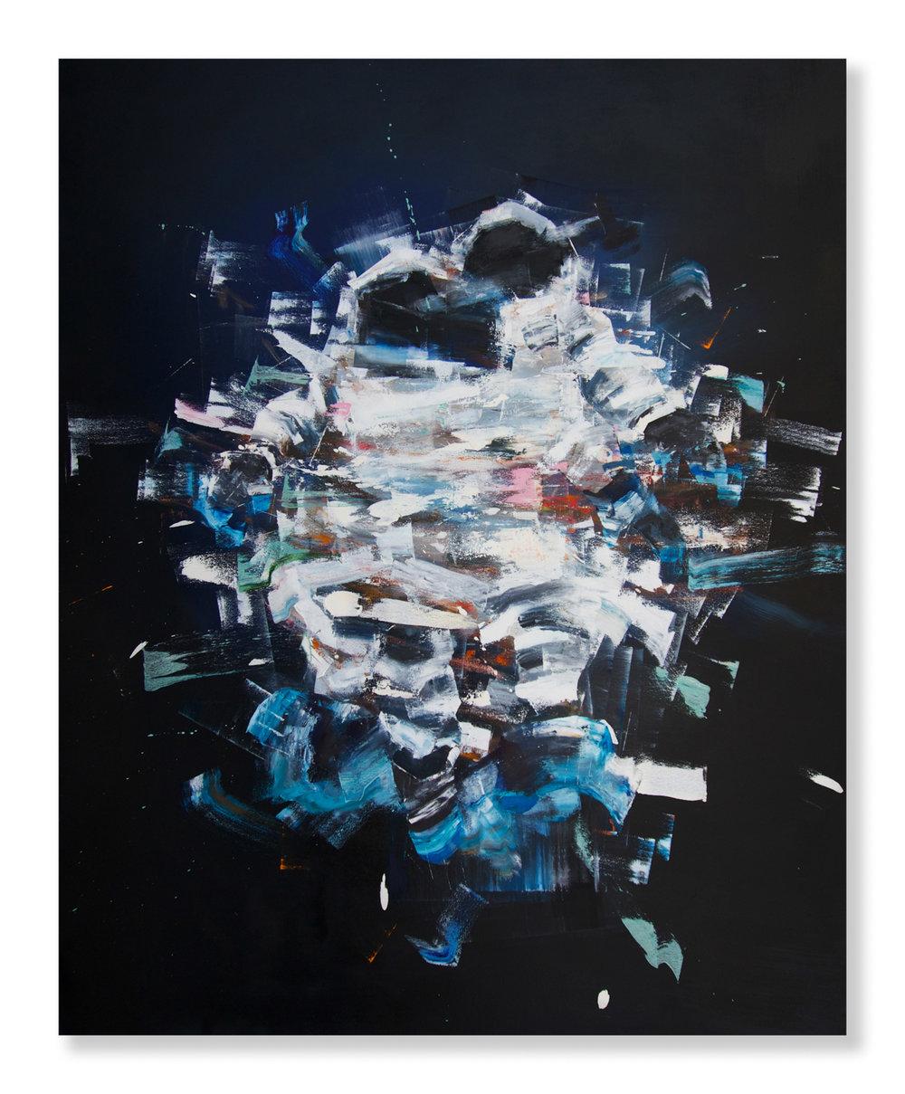 "Matthew Ryan Herget  Float Tank (2018) Oil on canvas 48"" x 60""  INQUIRE"