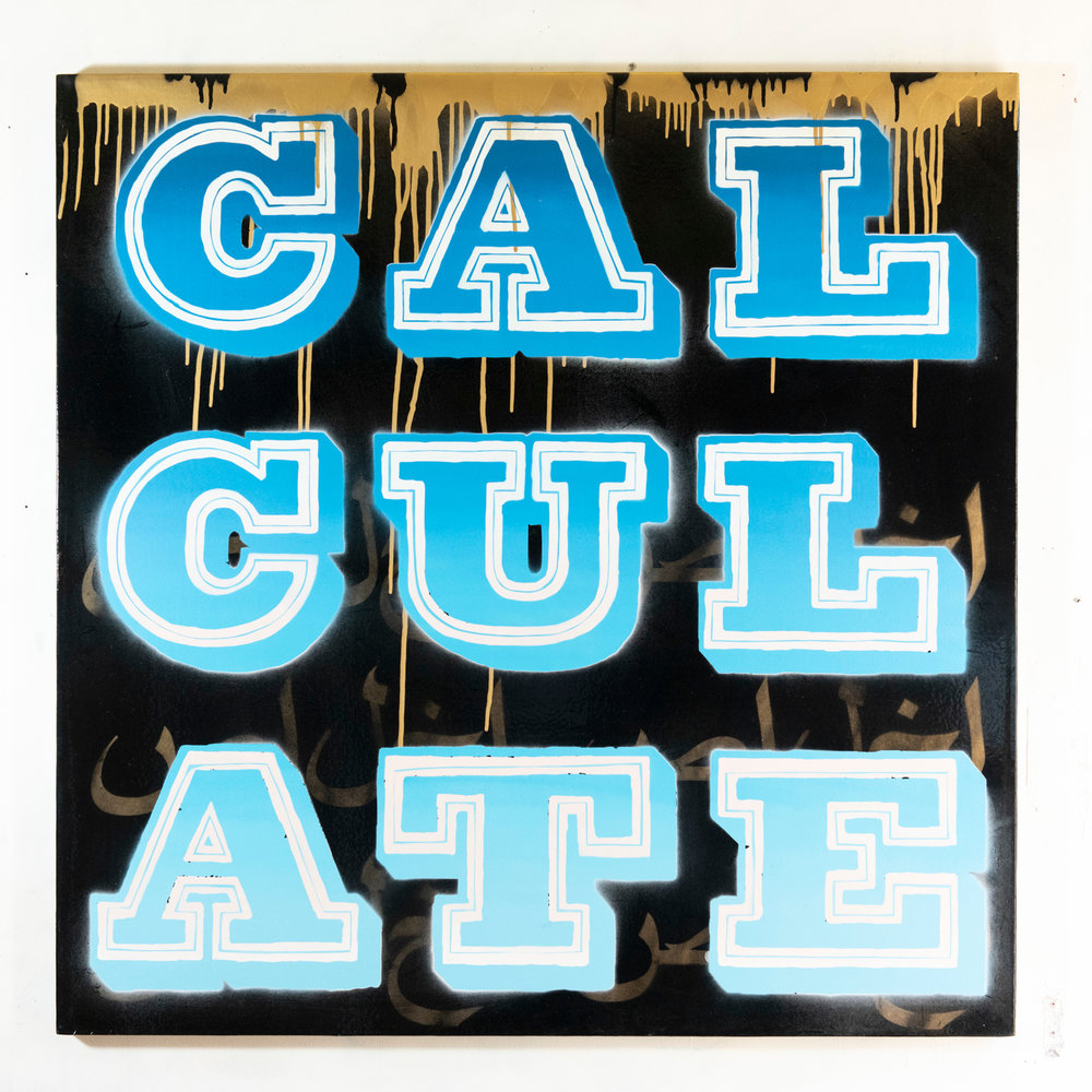 CALCULATE - Vandal, Blue (2018)
