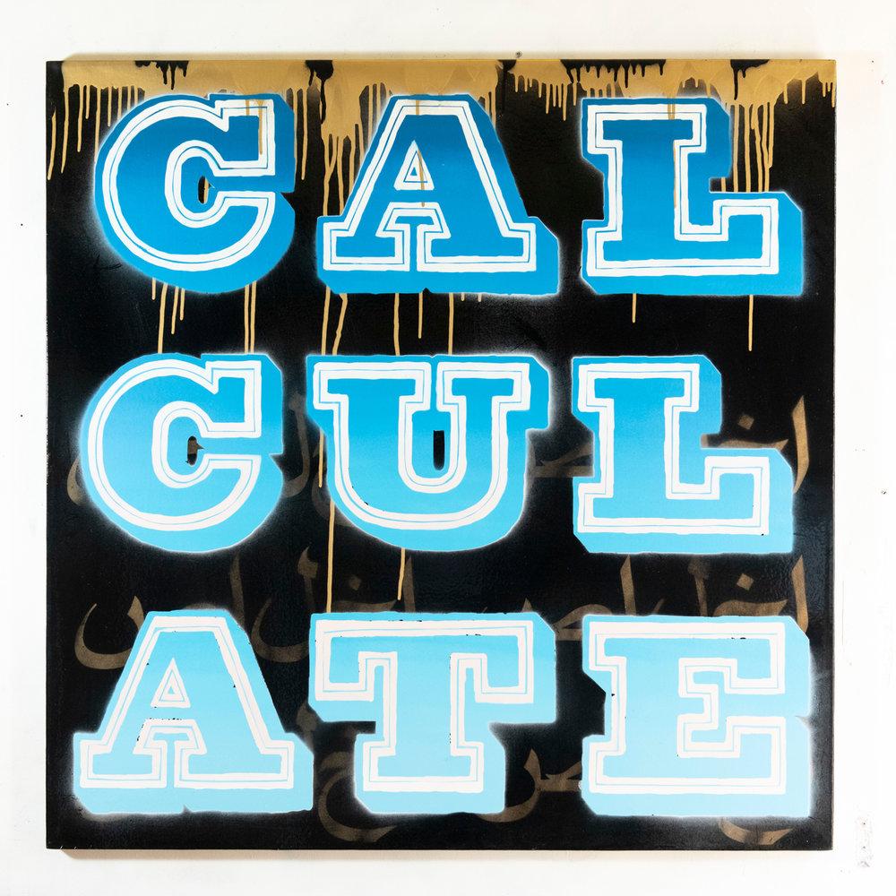 CALCULATE - Vandal, Blue (2018)