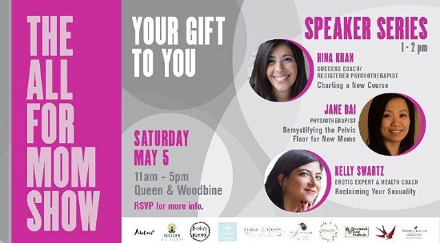 My friend Sona and i have created this THE ALL FOR MOM SHOW!  To all the mana in #toronto  you are all invited to come to this event. Created for moms by moms. Pm me if u would like to come., Space is limited💕🌷. . . . . . #momsboss #toronto10 #riverdaletoronto #leasidemoms #toronto❤️ #momtime