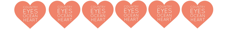 Country Eyes . Ocean Heart