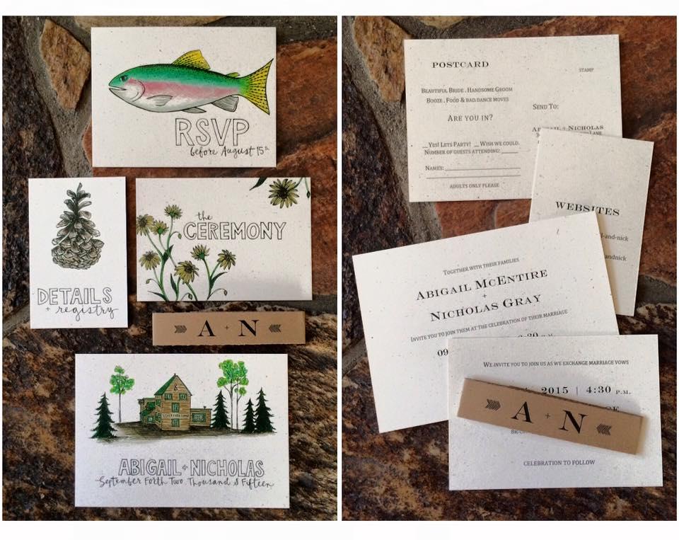 Custom 'All About Surroundings' Wedding Bundle