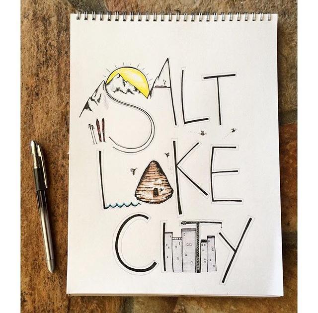 Salt Lake City Typography