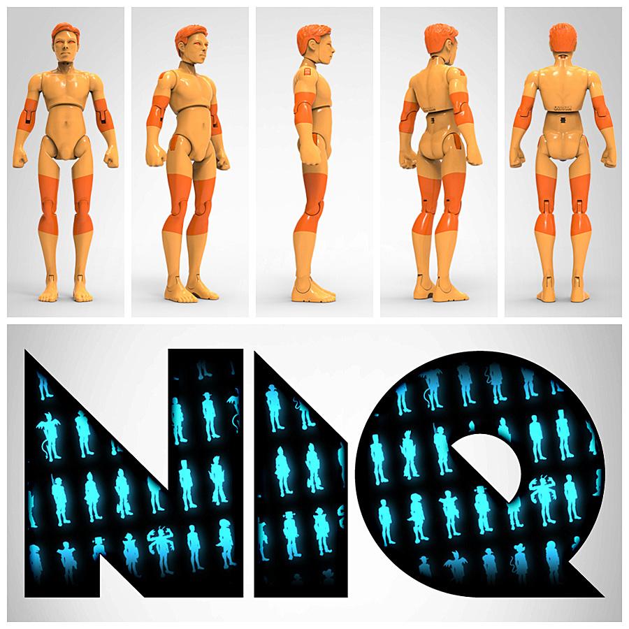 NIQ, The 3D-Printable Action Figure