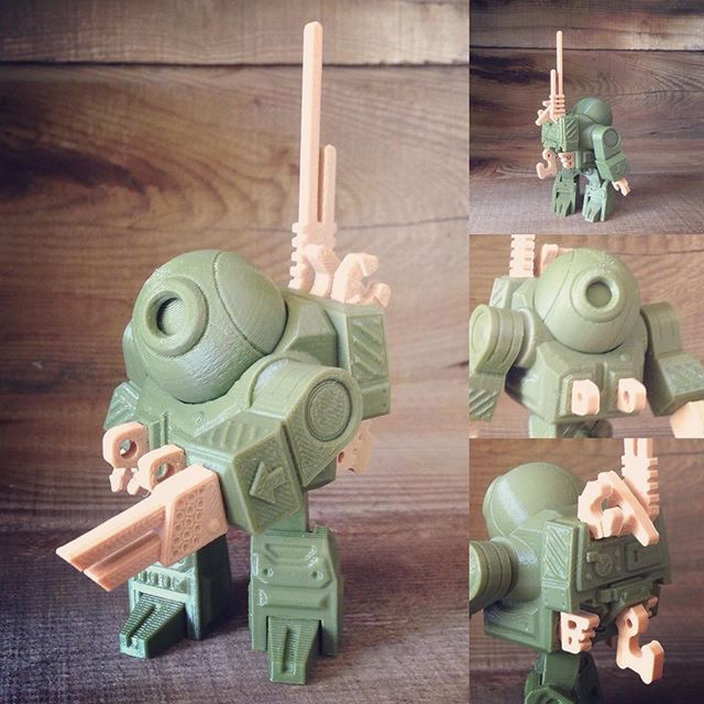 RukiBot, Monster-Fighting Backpack Bot