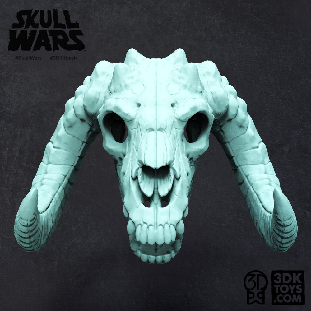 SKULL WARS - Skulls Inspired by the Creatures of Star Wars