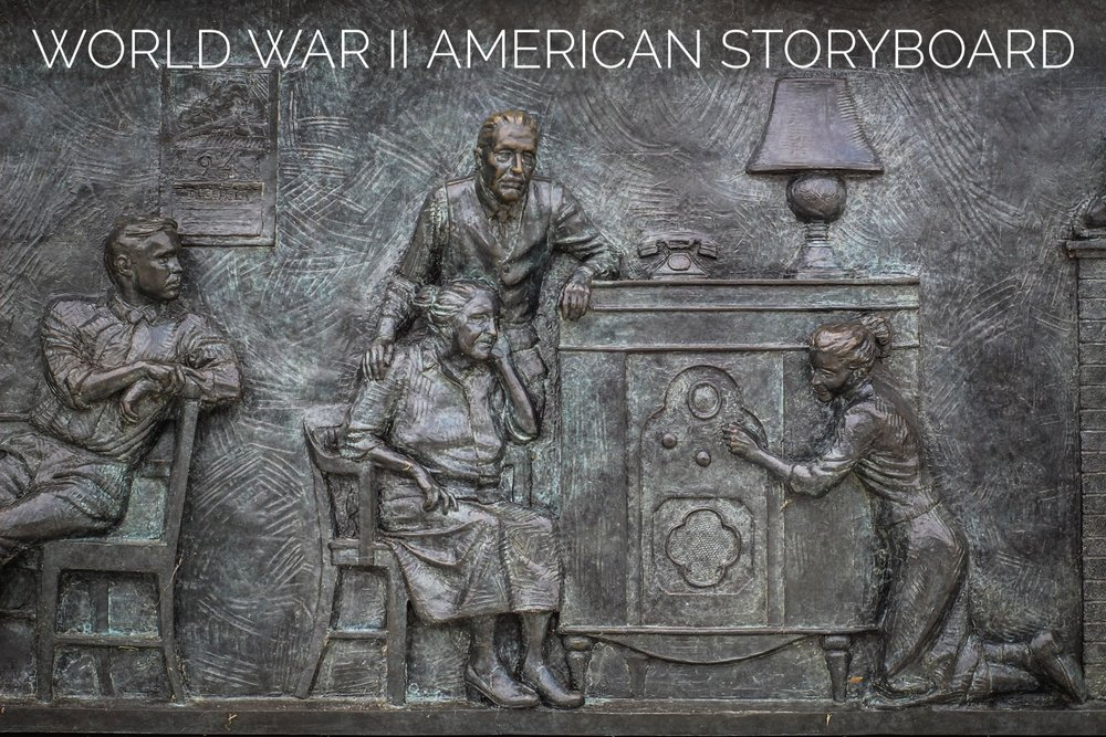 Raymond Kaskey's WWII American Storybard
