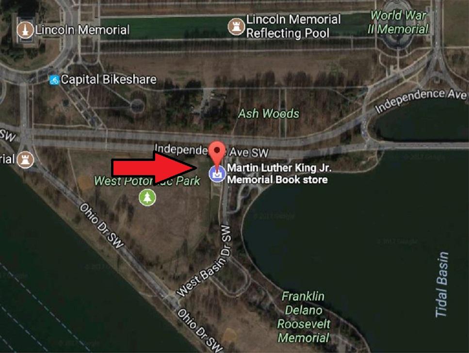 Meet Here MLK Jr Memorial Bookstore.JPG