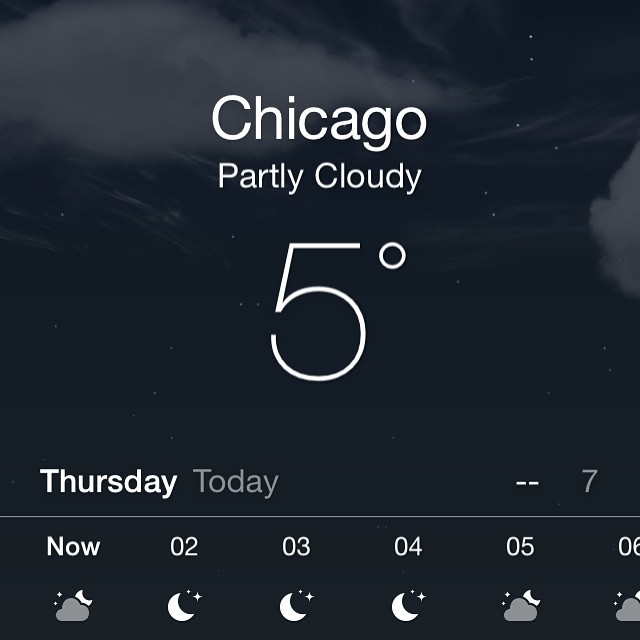 Wow it's cold today 😖