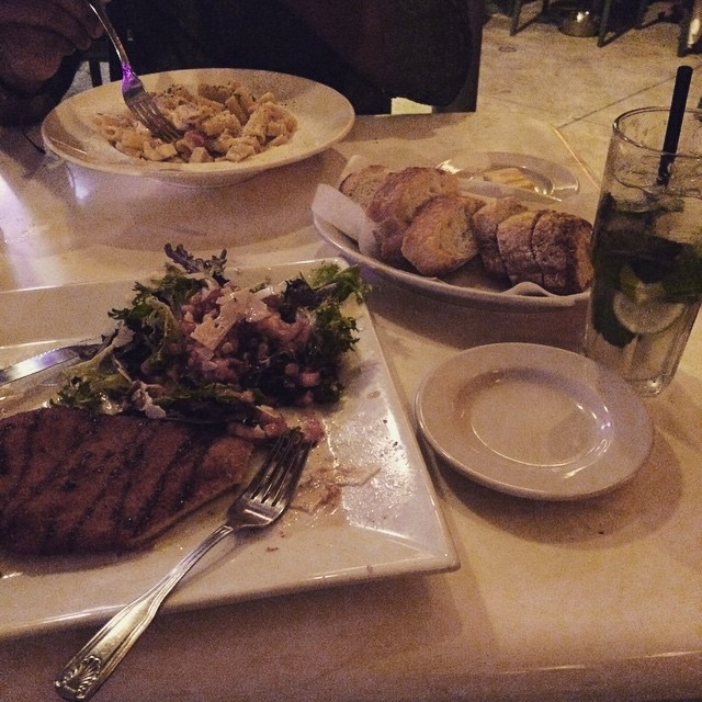 Late night dinner at Fort Lauderdale Beach 👌