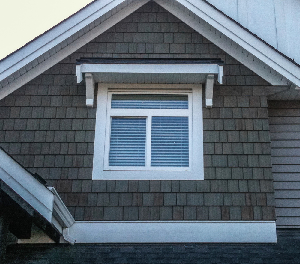 WeatherPro Exteriors - finished window
