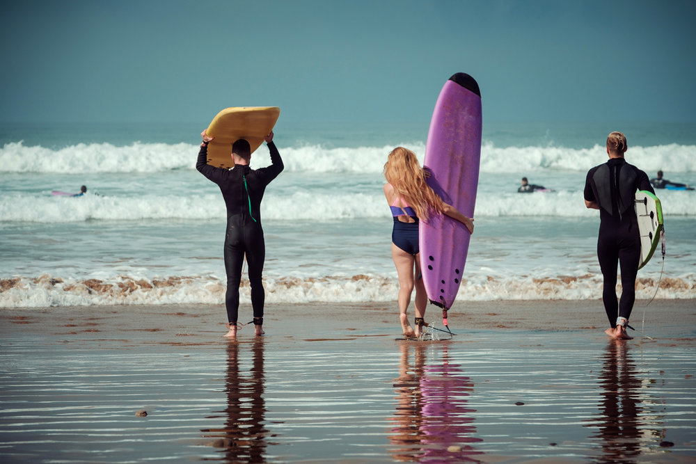 Surfing as Therapy