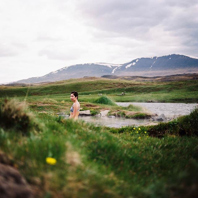 one of our favorite hot pots in iceland. p160, rolleiflex.