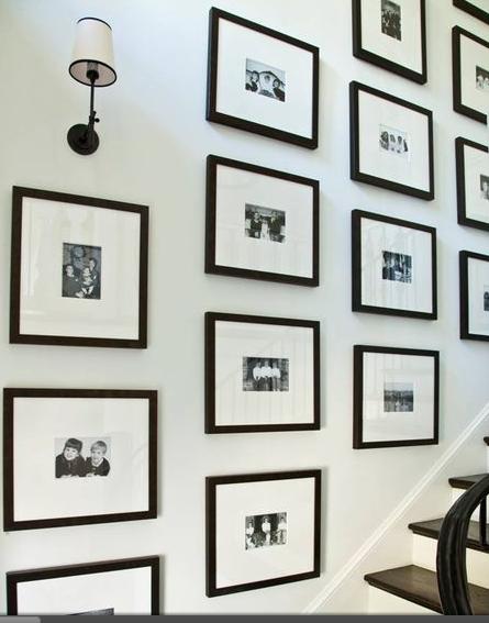 Fresh Photo Walls — Interior Designer Greenville SC   Allison Smith ...