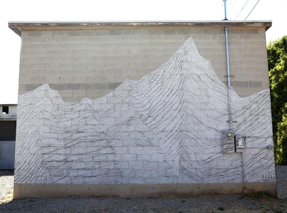 16' x 25 ' (400 square feet)