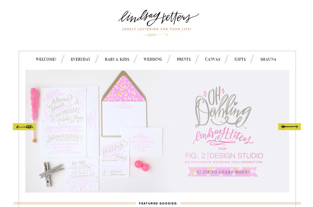 Lindsay Letters Website