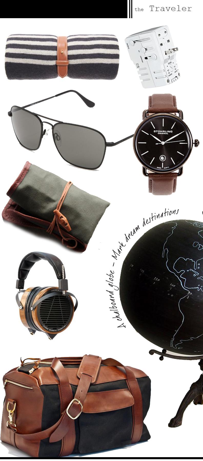 Guy's Gift Lookbook 2013 - The Traveler