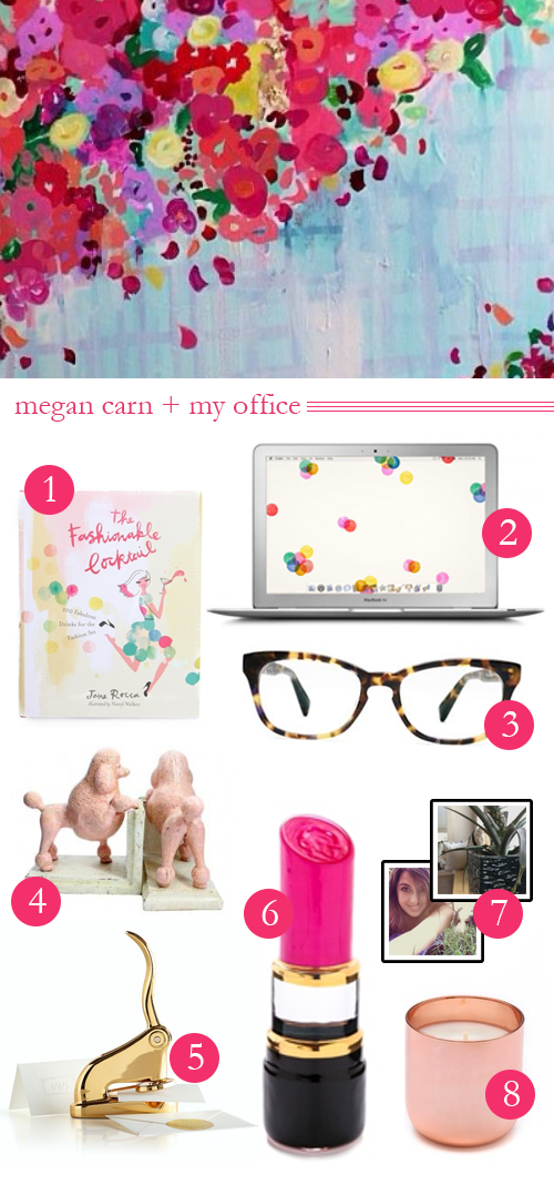 megan carn + my office