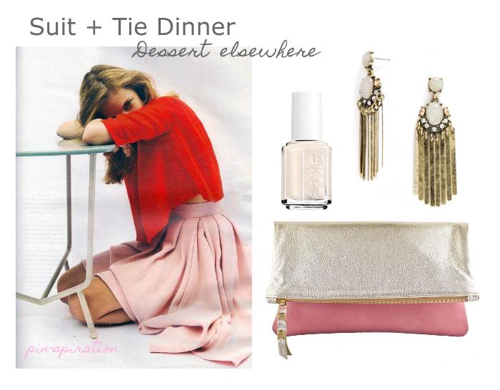 Suit + Tie Dinner