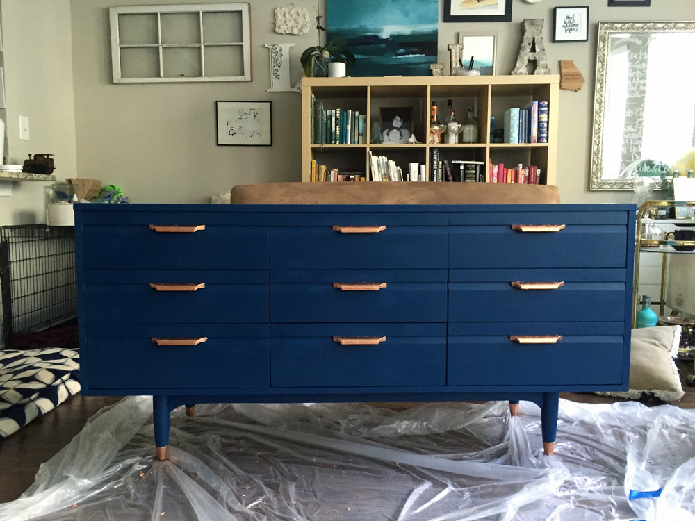 finished-craigslistdresser-inlivingroom