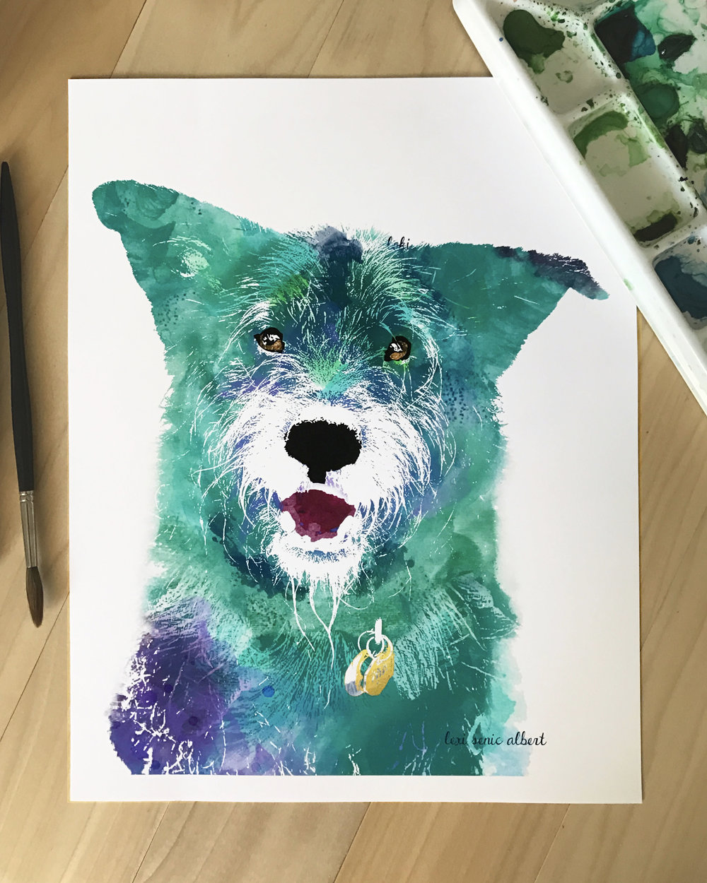 now accepting custom portrait requests - i love creating custom portraits for you and your sweet little furry faces. in preparation for the holidays, i am now accepting custom portrait requests.