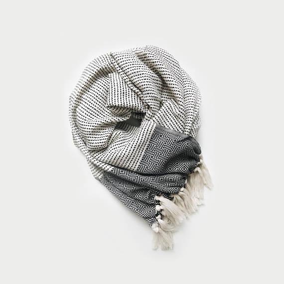 blanket infinity scarf - DeBrosseNYC