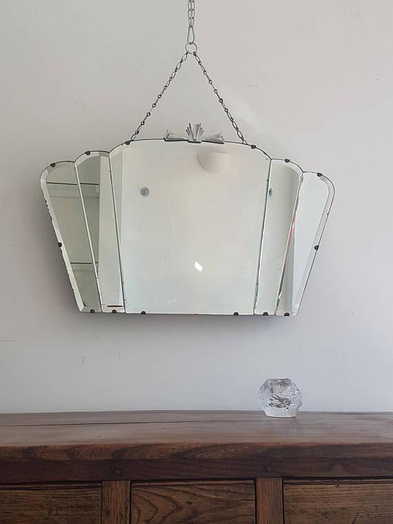 art deco fan mirror - 34Seaside