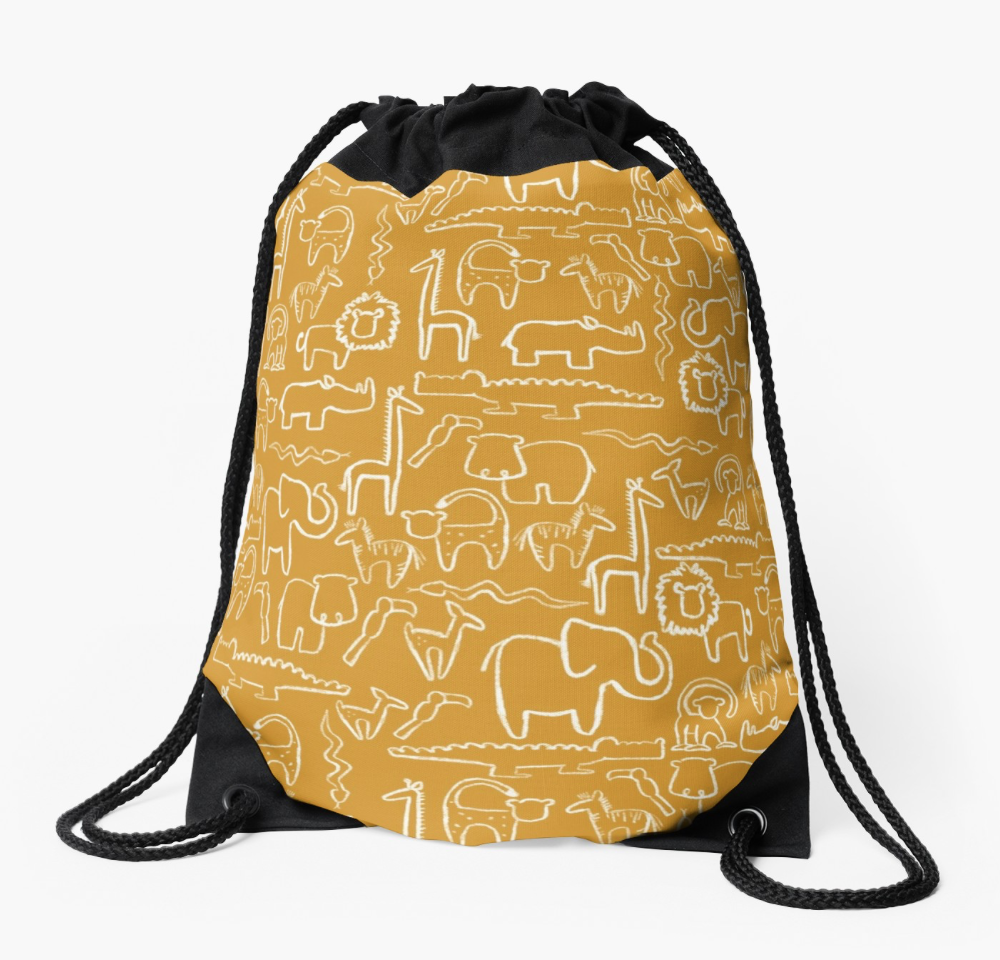 safari string bag