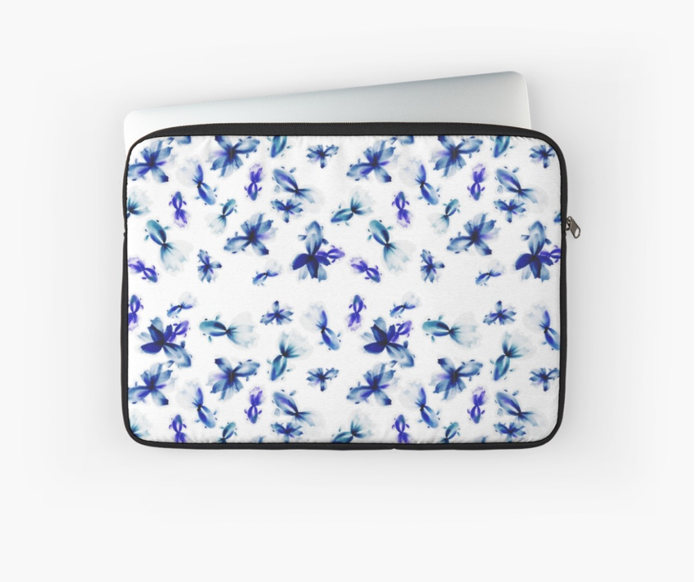 blue lagoon laptop sleeve