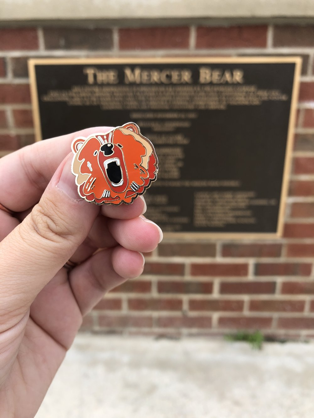 be the bear pin